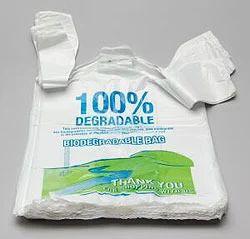 White Biocompostable Biodegradable Plastic, For Sopping