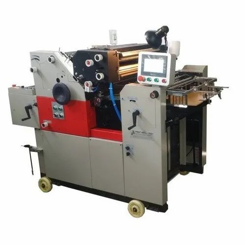 Non Woven Bag Offset Printing Machine, Max Bag Size: 16x22 inch