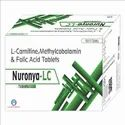 Methylcobalamin 1500mcg  L-Carnitine-L- Tartrate 500mcg Folic Acid 2.5mg