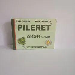 Pileret Arsh Capsule, Treatment: Used To Treat From Piles, Grade Standard: Medicine Grade