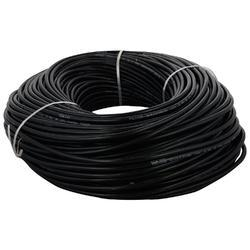 Black Polycab PVC Insulated 3 Core Copper Cable