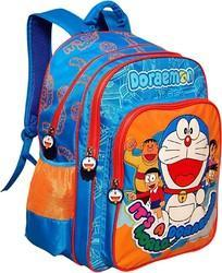 Rexine Printed Doraemon School Bag