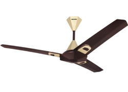 Brown And Cream Panasonic Wave Ceiling Fan