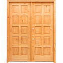 Teak Wooden Double Door