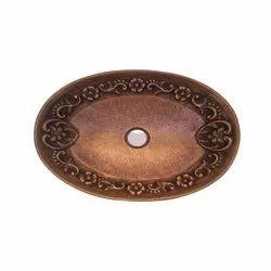Antique Copper Wash Basin, Model Name/Number: RGN-1792