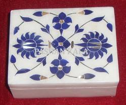 Marble Inlay Carving Box