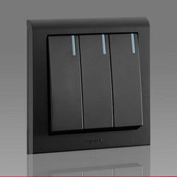 Black Legrand Modular Switches, 240 V