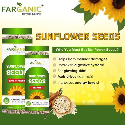 Vian International Organic Fresh And Healthy Premium Raw Sunflower