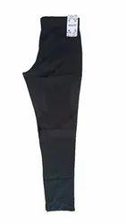 Cotton Black On & On Pants, Waist Size: 30.0