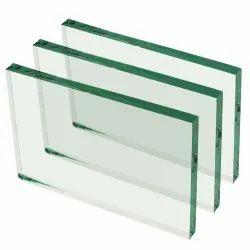 Rectangular Plain Float Glass, Thickness: 2-10 mm