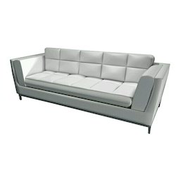 White Leather Sofa Couch
