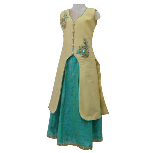 Indo Western Dress Girls Indo Western Dress Manufacturer From Mumbai