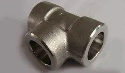 Carbon Steel Socket Weld Equal Tee