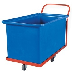 Crate Trolley - Bin Trolley Manufacturer from Ghaziabad