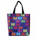 Multicolor Taxi Canvas Tote Bag