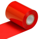 Red Barcode Ribbon 110x300
