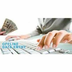 Offline Data Entry Work Service