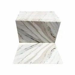 Kala Granite Polished Finish Statuario Marble Slab, Thickness: 18 mm