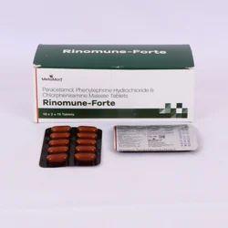 Paracetamol Phenylphrine Hydrochloride Chlorpheniramine Tab