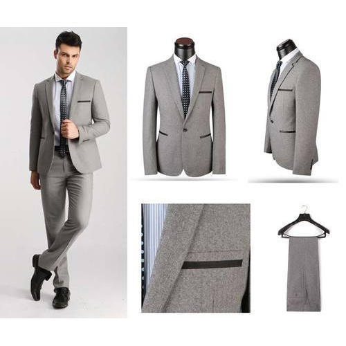 3f139ba9a0 Mens Grey Cotton Coat Pants, Rs 1500 /set, Lucky Outfit ...