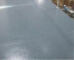 Mezzanine Checkered Plates