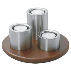 3 Piece Candle Holder Set