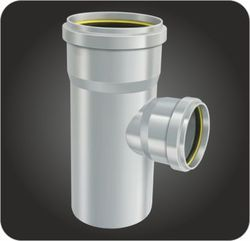 Water Way Reducing Tee, Size: 2 -3 Inch and 75 mm
