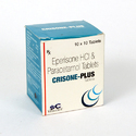 Eperisone HCI  50 mg, Paracetamol 325 mg Tablets