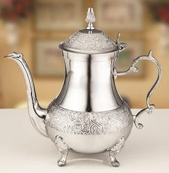 Flower Design Tea Pot