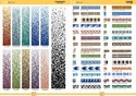 Crystal Gradation Glass Mosaic Tiles