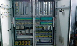 Three Phase Semi-Automatic Logo PLC Control Panel