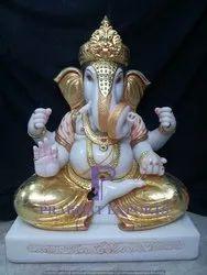 Marble Dagdo Seth Ganesh Statue
