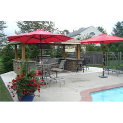 Outdoor Center Pole Umbrella