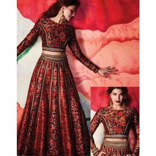 Party Wear Brocade Ladies Bollywood Replica Lehenga Choli