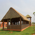 Thatch Roof Shed