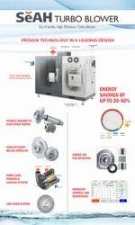 20000 Aluminum Tubro Air Blower for Industrial