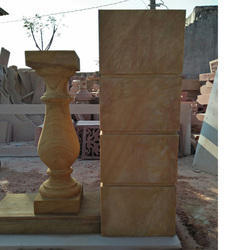 Stone Railings