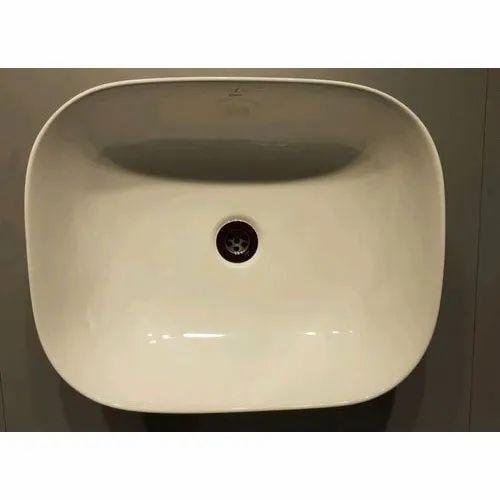 Ceramic Wall Mounted Jaquar Wash Basin For Bathroom Rs 4500 Piece Id 21715220530