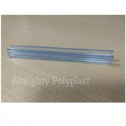 Rectangular Transparent Sliding Window Rubber Profile