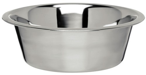 Stainless Steel Natural Mirror Polished Pet Feeding Bowl