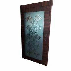 Acid Design Door Glass, Shape: Rectangle