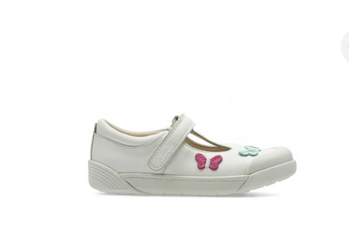 6d211522e19 White LilfolkFlo Inf Girl Shoes, Rs 1279 /pair, Clarks Store | ID ...