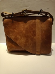 d2d9ff782c Mon Exports Brown Genuine Leather Tote Bag