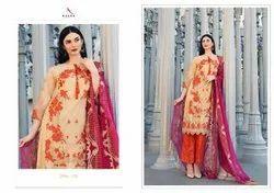 Cotton Blue Charizma Vol 4 Kaara Plazzo Dress Material