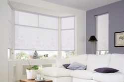 White Blackout Roller Blind