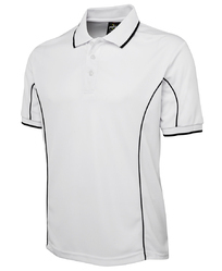Polyester S-XXL Reebok Side Piping Polo White T Shirt AE6889