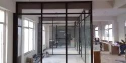 Glass Aluminum Office Partition