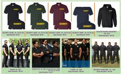 Security T Shirt Bouncers Safari
