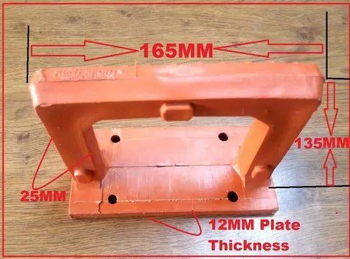 Plastic Clamp Type Footrest