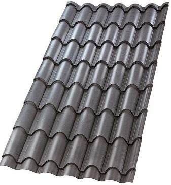 Sandy Grey Grain Finish Ultima Eurotile Roofing Sheet